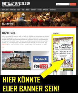 Hier werben auf Mittelalterfeste.com