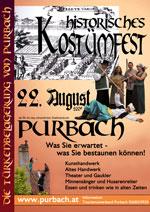 Offizeller Flyer zum Mittelalterfest - Klicken zum vergrössern
