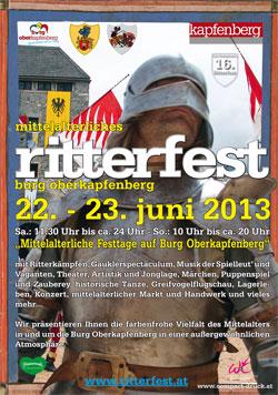 16. Ritterfest Burg Oberkapfenberg 2013