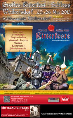Mittelalterfest bei Schloss Wolkersdorf 2013