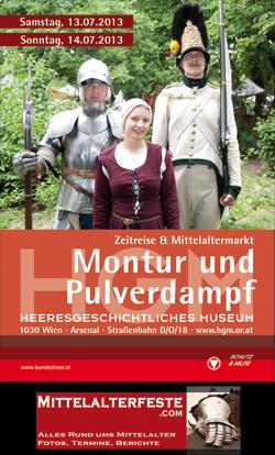 HGM Montur und Pulverdampf 2013 Heeresgeschichtliches Museum Wien Mittelalterfest
