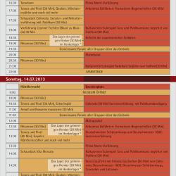 HGM Programm 2013 Montur und Pulverdampf