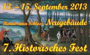 Historisches Fest Schloss Neugebäude 2013