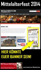 Mittelalterfeste 2014 Veranstaltungen bewerben