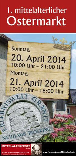 Mittelalterlicher Ostermarkt 2014